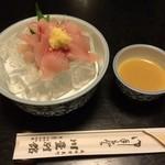 川豊別館 - 鯉洗い 珍味 ごま