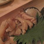 とうきや - 貝のお刺身です。