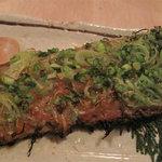 とうきや - 魚の味噌焼きです。