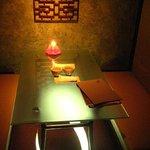横浜 月 - 個室です。広くて落ち着いてます。記念日を祝うには最適!