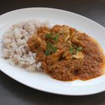 本格的インド風チキンカレー