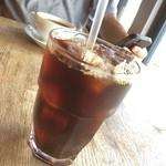 かもがわカフェ - iced coffee♡