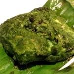 カーン・ケバブ・ビリヤニ - サービス ミント味の白身魚