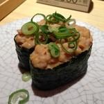 大起水産回転寿司 - H.26.8.2.昼 納豆 100円