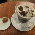 エスパス・ビブリオ - アイスコーヒー