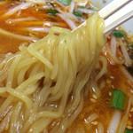 味王國 - 四川ニラソバ、麺