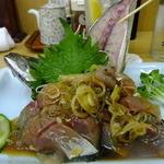 四ツ木製麺所 - 鯵たたき