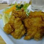 四ツ木製麺所 - 鶏から揚げ