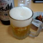 30655982 - 取り敢えずビールで安着祝い