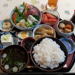 とこちゃん - お刺身定食¥700