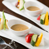 Chef's NaNa - 料理写真:人気No1!有機野菜のバーニャカウダ