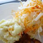 ナチュラル・ココ - 2014.09_マクロビ風ココプレート(1008円)キャベツとポテトのサラダ