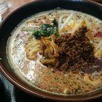 30658643 - 担々麺のBセット(小麻婆豆腐に小ライス