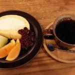 パーク サイド カフェ リアン - ロールケーキ