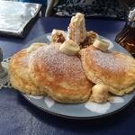 30659952 - キャラメルバナナとくるみのパンケーキ(880円)_2014年9月