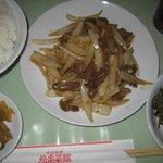 3066793 - 牛肉と玉ねぎの生姜焼きランチ