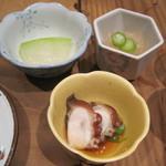 Tsukiakari - 付き出し3種