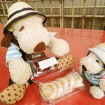 へんばや商店 - へんば餅5個入り400円。へんば餅は形がひらべったくて 両面に焼き目がついてます。