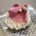 スゥリル - ごま鯖、鰯、秋刀魚のマリネとお米のサラダ【2014年9月】