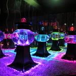 アートアクアリウム - (ボンボリウム)雪洞。アクアリウムを照明に見立てた作品