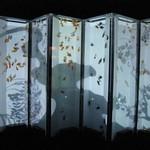 アートアクアリウム - 2008年夏、屏風は6枚でプロジェクションマッピングが世に出てない頃