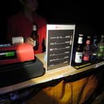 アートアクアリウム - アクアリウム内でシンハービールを買う。800円