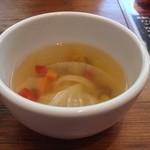 30669131 - ランチに付くスープ