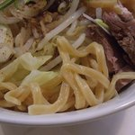 なにわ男麺 大五郎 - 汁なしの麺アップ(2010.1月)