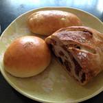 30671394 - あんぱん コッペパン イチジクとくるみのパン