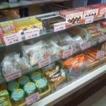 ハートランドショップ - お菓子や軽食が中心ですね