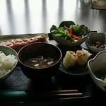 30672872 - 鮭の粕漬け定食