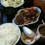 醤醤 - 酢豚定食 680円☆(第二回投稿分②)