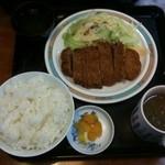 醤醤 - とんかつ定食 600円☆(第二回投稿分③)