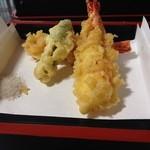 手打蕎麦多賀 - 天ぷら