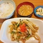30675262 - 野菜いため定食 780円