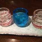 空 - 泡盛飲み比べセット 500円は安い☆(≧∀≦*)ノ