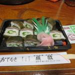 辰政 - さんまロール 860円