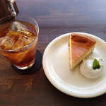 n.b.cafe - チーズケーキセット800円