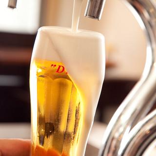 こだわりのドラフトビール!