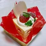 Patisserie T.sweets - レアチーズ 380円 (2013/11) (''b
