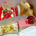Patisserie T.sweets - フローラの重心が高いので転げてます (´Д`;)