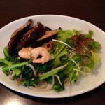 30683183 - 小エビ 茄子と野菜の炒め物