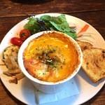 スープス ヤツガタケ - かぼちゃのスープグラタン(ワンプレートセット)