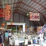 網走感動朝市食堂 - 海沿いの大きな施設を作って営業していました