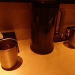 海老吟醸 じぱんぐ - ラーメンにピッタリのお茶