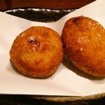 30685192 - 里芋とオクラの塩コロッケ