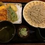 寿々喜そば - 野菜天ざる