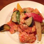 イタリア食堂 ガティーノ - 鶏のアラビアータ煮