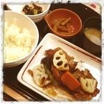 ガスト - 若鶏とごろごろ野菜の黒酢あん和膳 ¥799 by平沼店