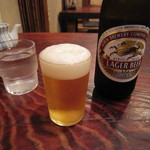 蕎亭 仙味洞 - 瓶ビール